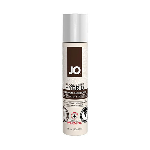 JO SILIKONE-FREE HYBRID LUBRICANT COCONUT WARMING, 30 ml Лубрикант- ГИБРИД водно-кокосовый с согревающим эффектом