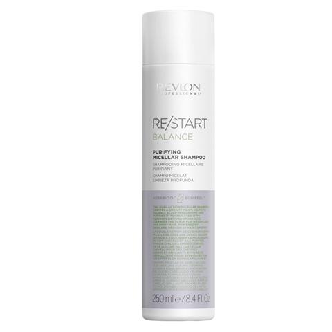REVLON Restart Balance: Мицеллярный шампунь для жирной кожи головы (Purifying Micellar Shampoo), 250мл/1л