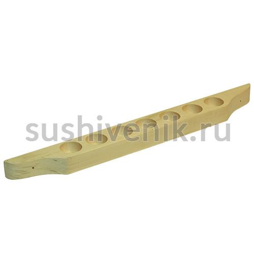Полочка-подставка для масел (7 отверстий)
