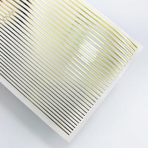 Дизайн полосочки золото