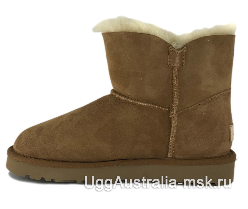 UGG Bailey Button II Mini Chestnut