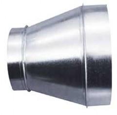 Переход 100х160 оцинкованная сталь