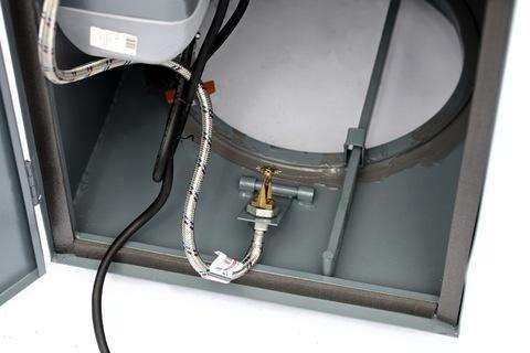 Устройство для очистки, промывки и дезинфекции ствола мусоропровода