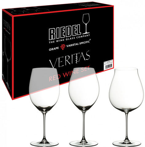 Дегустационный набор Red Wine  артикул 5449/74. Серия Riedel Veritas