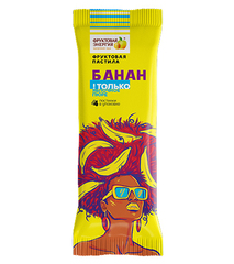 """Пастила фруктовая """"Фруктовая энергия""""  банан 30г"""