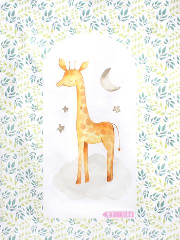 Купон(панель)жираф(гнездо)-76х106см