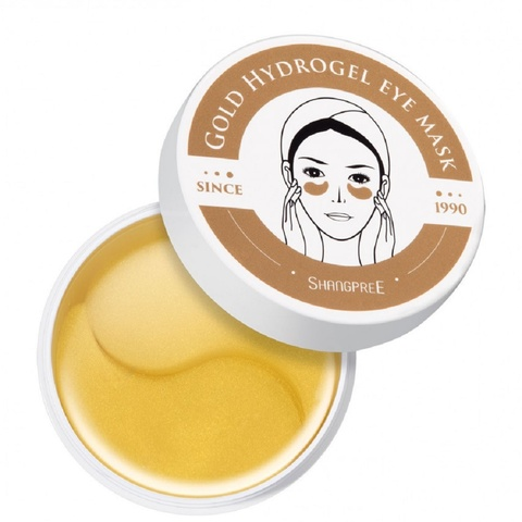 Гидрогелевые патчи, для глаз Shangpree Gold Hydrogel Eye mask, 60 шт