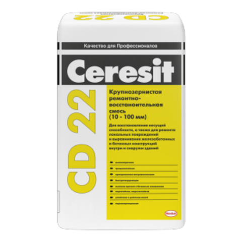 Ремонтно-восстановительная смесь Церезит CD 22 25 кг
