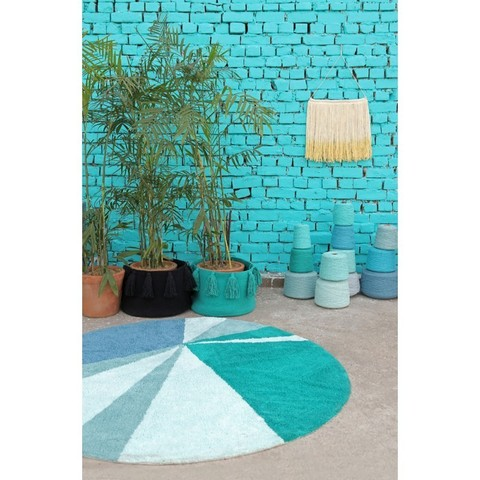 Ковер Lorena Canals Geometric Emerald (160D)