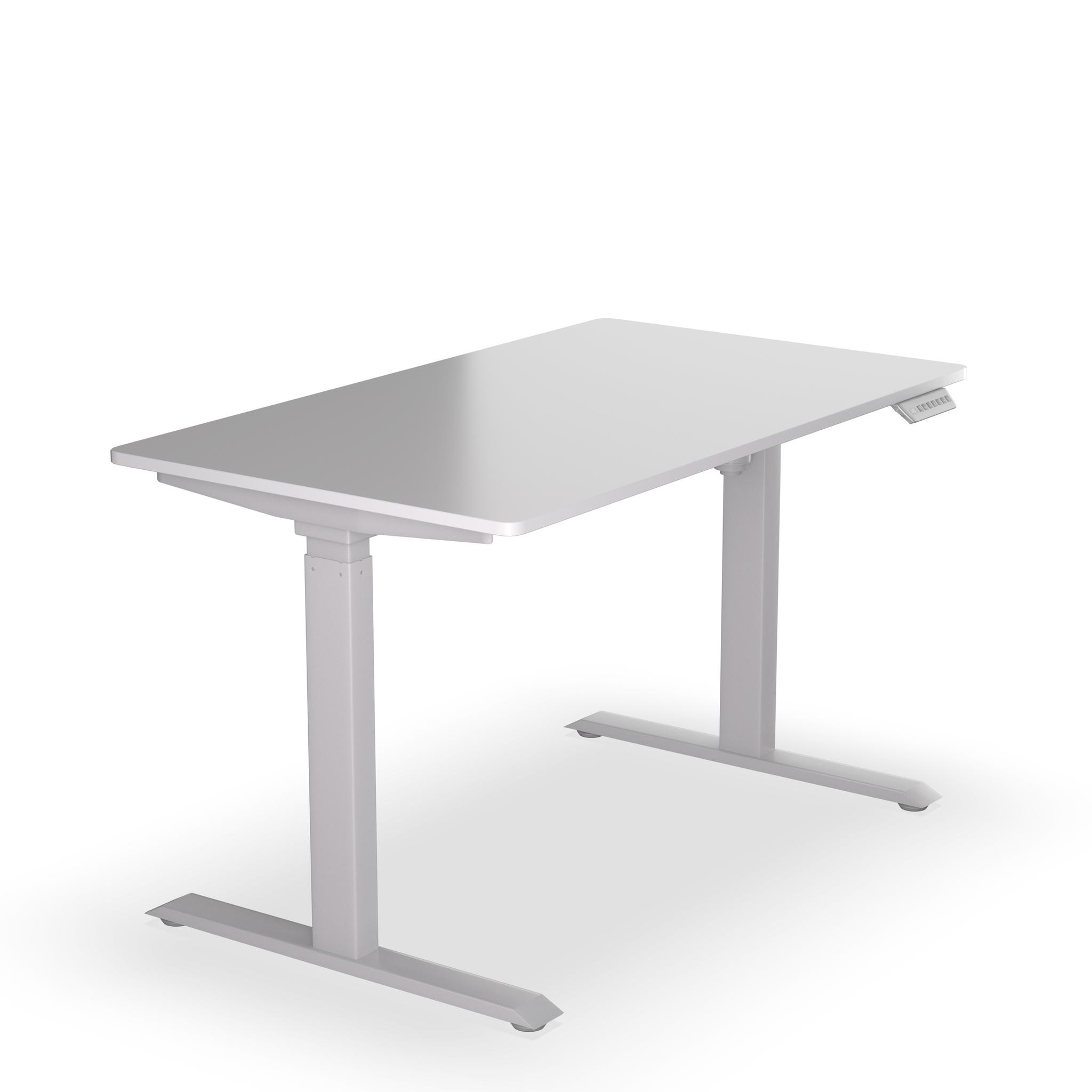 Стол с регулируемой высотой E-DESK A3 SERIES - Белый/Белый