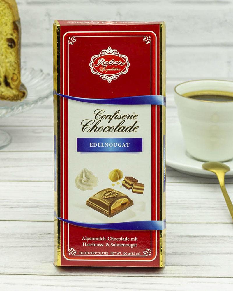 Молочный Шоколад Reber с Ореховым Пралине 100 гр.