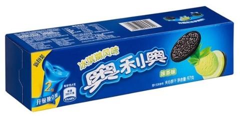 Печенье Oreo со вкусом мороженного и зелёного чая 97 гр