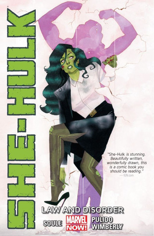She-Hulk TPB #1 Law and Disorder (Marvel Now)