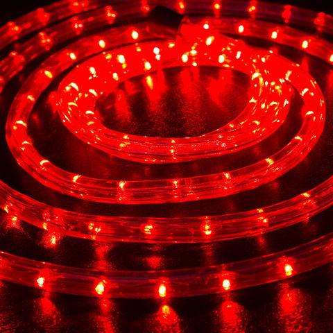 Красный дюралайт 10 метров готовый отрезок набор шланга LED