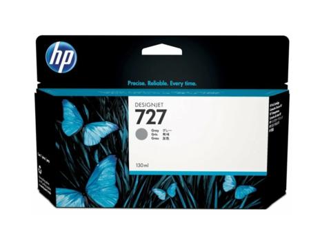 Оригинальный картридж струйный HP B3P24A (№727) серый