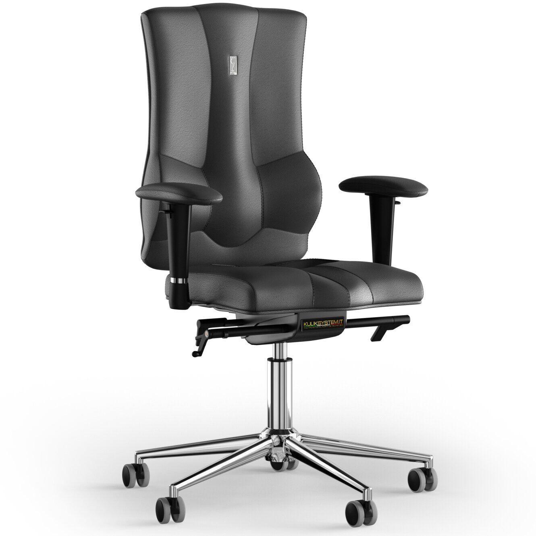 Кресло KULIK SYSTEM ELEGANCE Кожа без подголовника без строчки