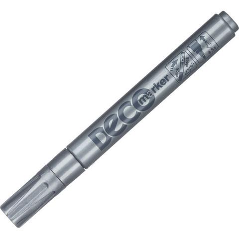 Маркер промышленный ICO для универсальной маркировки серебристый (2-4 мм)