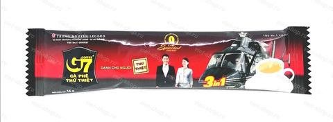 Вьетнамский растворимый кофе G7, 3 в 1 , Original, 50 пак.