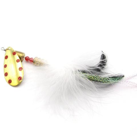 Блесна Fishycat Bretton Maxi Tail - №6 / GRDT