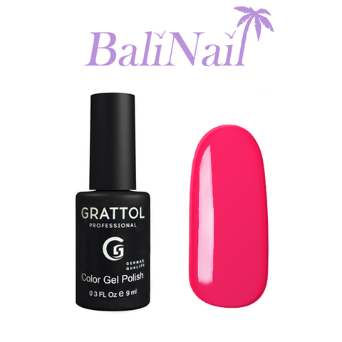 Grattol Color Gel Polish Raspberry - гель-лак 031, 9 мл