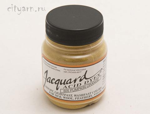 Краситель для шерсти и шелка Acid Dye 605 Тыквенный оранжевый