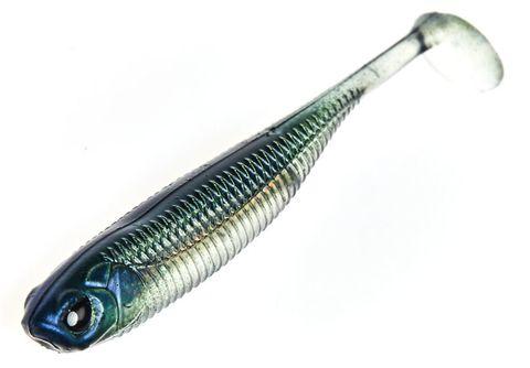 Виброхвост LJ 3D Series Makora Shad Tail 6.0in (15.24 см), цвет 001, 3 шт.