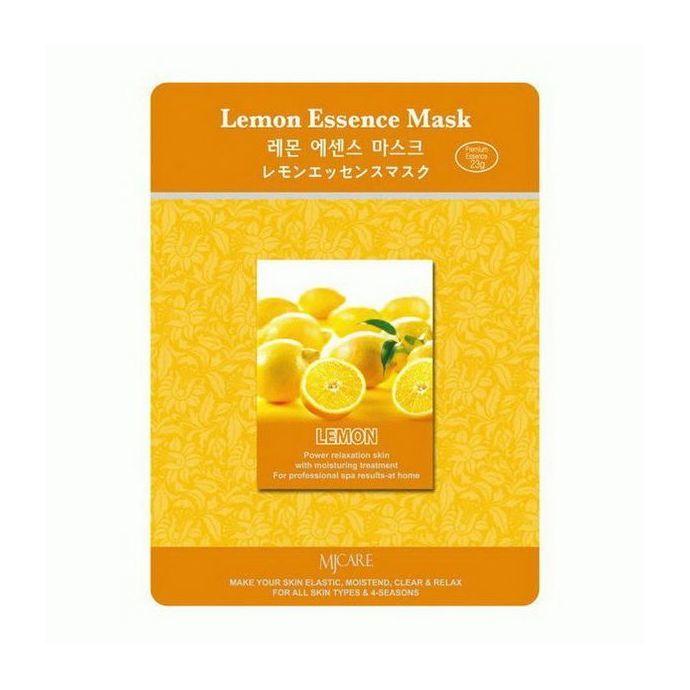 Тканевая маска для лица лимон MIJIN Care Mask
