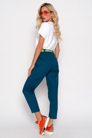 """<p>Шикарные брюки с высокой и очень удобной посадкой с карманами, талия на резинке. Пояс в стоимость не входит, его можно приобрести в разделе """"аксессуары"""".&nbsp;</p>"""
