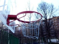 Сетка баскетбольная из цепей