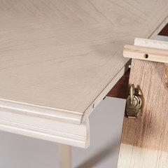 Стол овальный раскладной REIMS-3672 — белый