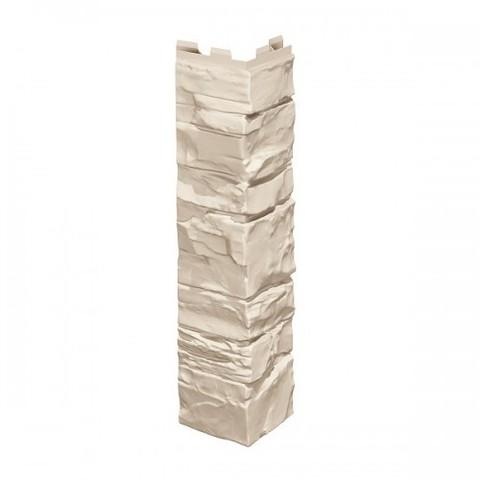 Угол наружный к Фасадным Панелям VOX (Вокс) Vilo Solid Stone (Вило Солид Стоун) Бежевый