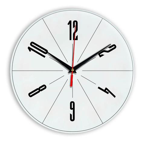 Настенные часы Ideal 956 белые
