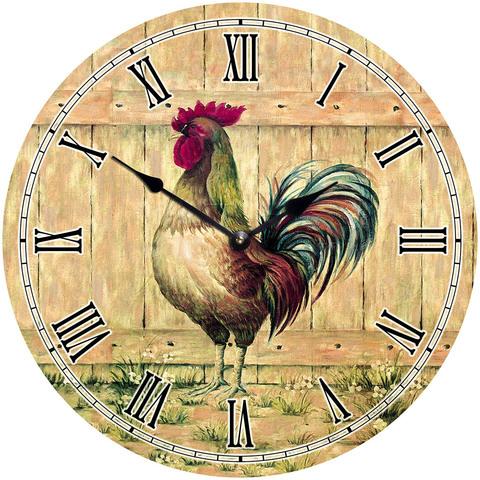 деревянные часы из МДФ mdeco1102 420