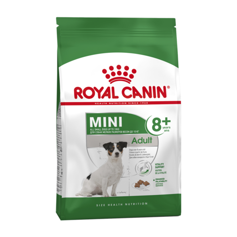 Royal Canin Mini Adult 8+ Сухой корм для пожилых собак мелких пород