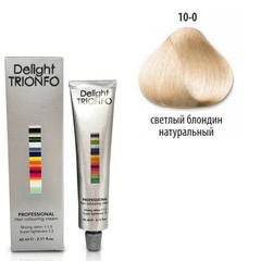 Constant Delight, Крем-краска DELIGHT TRIONFO 10.0 для окрашивания волос, 60 мл