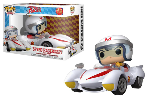 Speed Racer with the Mach 5 (75) Funko Pop! || Спиди Гонщик