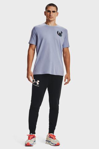 Мужская голубая футболка UA IN GYM SS Under Armour