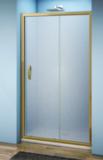Душевая дверь BAS Jazz WTW-140-G-BR 140 см бронза матовый