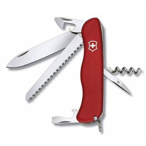 Нож перочинный Victorinox Rucksack (0.8863) 111мм 14функций красный