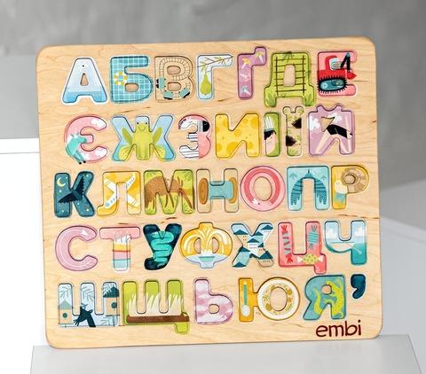Азбука с картинками Украинская