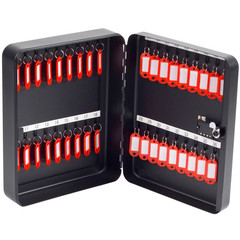 Шкаф для ключей Office-Force 20092 черный (на 36 ключей, металл)