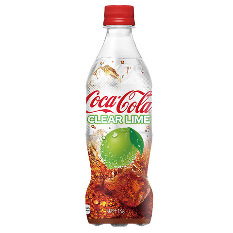 Coca-Cola Clear Lime Япония 0,5 л