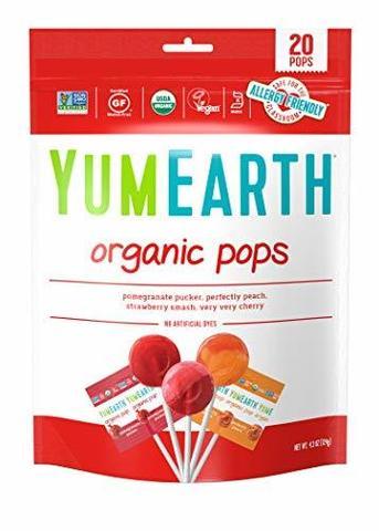 YumEarth, Органические конфеты, 20+ конфет, 119 гр