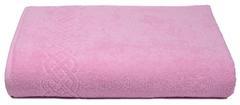 Простыня Plait розовая махр.