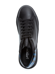 Кожаные кроссовки Iceberg 1290 черные