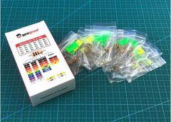 Набор выводных резисторов 0.25W (10 кОм-91 кОм) 24 номинала по 10шт.