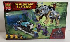 Супер Герои 10836 Поединок с носорогом, 247 деталей Конструктор