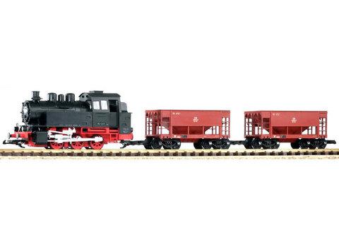 Стартовый набор: паровоз BR80 с 2 грузовыми вагонами с возможностью установки звука и пара