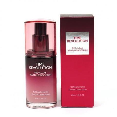 Missha Time Revolution Red Algae Revitalizing Serum интенсивная лифтинговая сыворотка для лица
