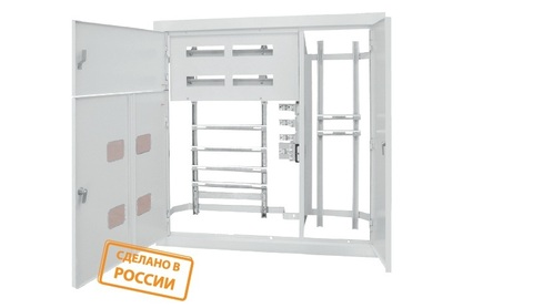 Корпус щита этажного 4 кв. (1010х950х140) TDM